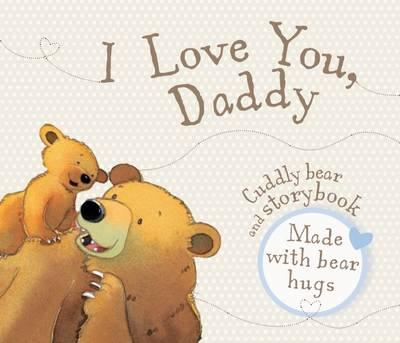 I Love You Daddy - Book and Soft Toy (BOK)