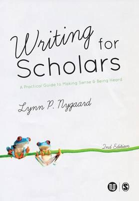 Writing for Scholars (BOK)