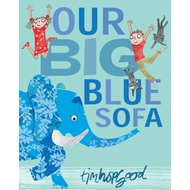 Our Big Blue Sofa (BOK)