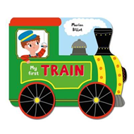 Whizzy Wheels: My First Train (BOK)