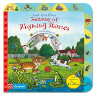 Axel Scheffler Treasury of Rhyming Stories Book and CD (BOK)