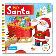 Produktbilde for Busy Santa (BOK)