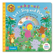 Monkey Music Let's Sing and Play (BOK)