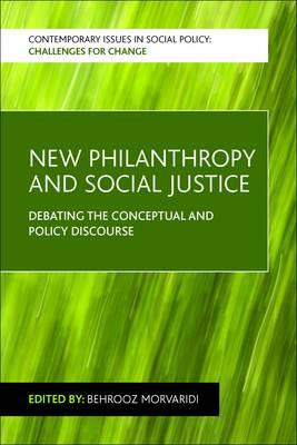 New philanthropy and social justice (BOK)