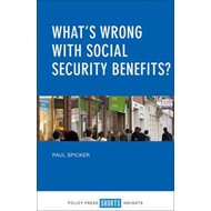 What's wrong with social security benefits? (BOK)