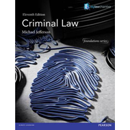 Criminal Law (Foundations) Premium Pack (BOK)