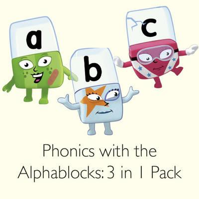 Phonics with the Alphablocks: 3 in 1 Pack (BOK)