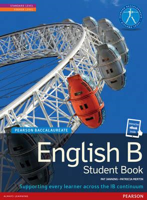 Pearson Baccalaureate English B print and ebook bundle for t (BOK)