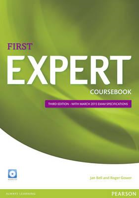 Expert First 3rd Edition Coursebook with CD Pack (BOK)