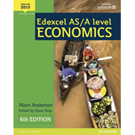 Edexcel AS/A Level Economics Student book + Active Book (BOK)