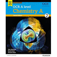 OCR A Level Chemistry A Student Book 2 + Activebook (BOK)