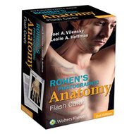 Rohen's Photographic Anatomy Flash Cards (BOK)