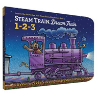 Steam Train, Dream Train 1-2-3 (BOK)