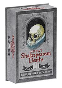 Great Shakespearean Deaths Card Game (BOK)