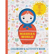 Masha's World: Coloring & Activity Book (BOK)