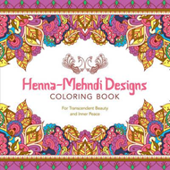 Henna-Mehndi Designs Coloring Book (BOK)