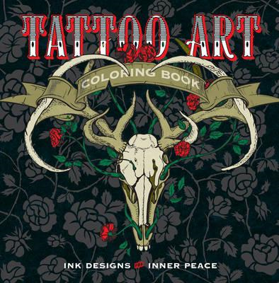 Tattoo Art Coloring Book (BOK)