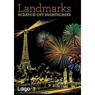 Scratch-Off Nightscapes: Landmarks (BOK)