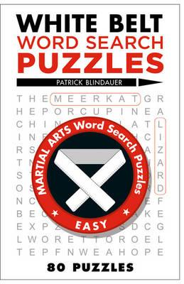 White Belt Word Search Puzzles (BOK)