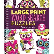 Large Print Word Search Puzzles (BOK)