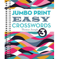 Jumbo Print Easy Crosswords #3 (BOK)