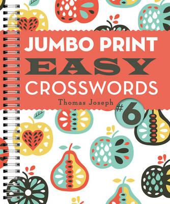 Jumbo Print Easy Crosswords (BOK)
