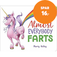 Produktbilde for Almost Everybody Farts (BOK)