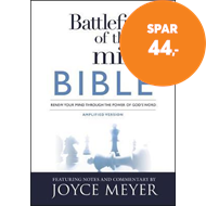 Produktbilde for Battlefield of the Mind Bible - Renew Your Mind Through the Power of God's Word (BOK)