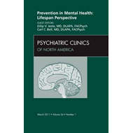 Prevention in Mental Health: Lifespan Perspective, An Issue (BOK)