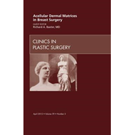 Acellular Dermal Matrices in Breast Surgery, An Issue of Cli (BOK)