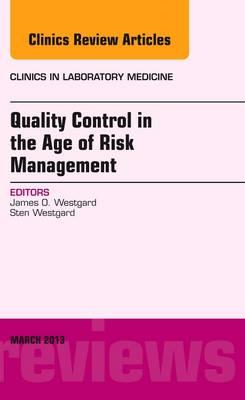 Quality Control in the age of Risk Management, An Issue of C (BOK)