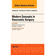 Modern Concepts in Pancreatic Surgery, An Issue of Surgical (BOK)