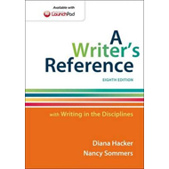 Writer's Reference with Writing in the Disciplines (BOK)