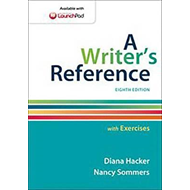 Writer's Reference with Exercises (BOK)