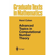 Advanced Topics in Computational Number Theory (BOK)