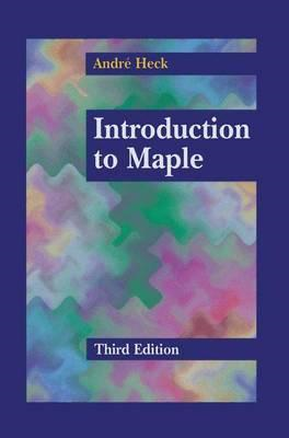 Introduction to Maple (BOK)