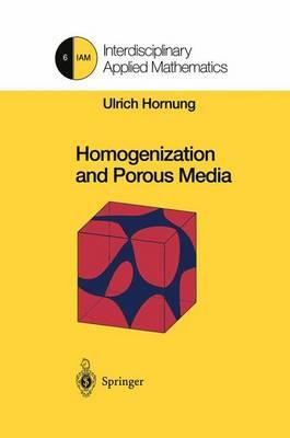 Homogenization and Porous Media (BOK)