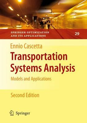 Transportation Systems Analysis (BOK)