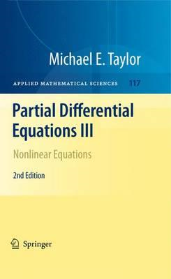 Partial Differential Equations III (BOK)