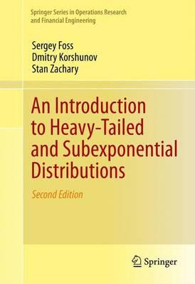 Introduction to Heavy-Tailed and Subexponential Distribution (BOK)