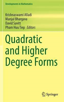 Quadratic and Higher Degree Forms (BOK)
