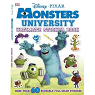 Ultimate Sticker Book: Monsters University (BOK)