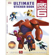 Big Hero 6 Ultimate Sticker Book (BOK)
