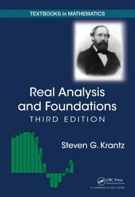 Real Analysis and Foundations (BOK)