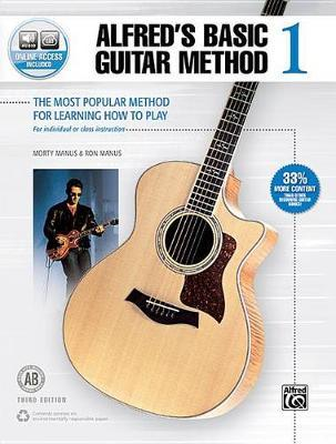 Alfred's Basic Guitar Method, Bk 1 (BOK)