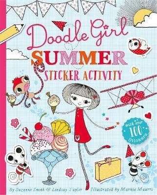 Doodle Girl Summer Sticker Activity (BOK)