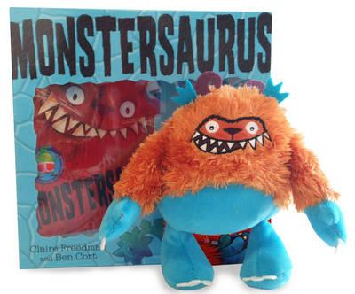 Monstersaurus Book and Toy (BOK)