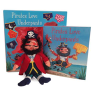 Pirates Love Underpants Book & Plush (BOK)