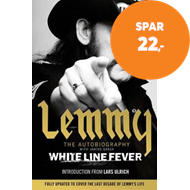 Produktbilde for White Line Fever - Lemmy: The Autobiography (BOK)