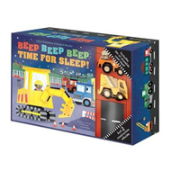 Produktbilde for Beep Beep Beep: A Road Play Set (BOK)